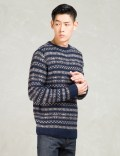 A.P.C. Navy Pullover Sweater Picture