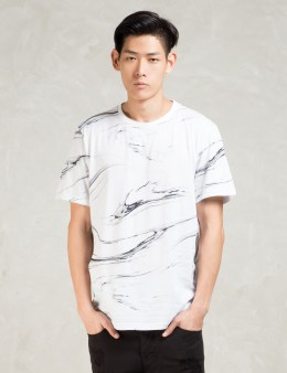 STAMPD White S/S White Peral T-Shirt Picture