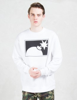 The Hundreds Forever Half Bomb Crewneck Sweatshirt Picture