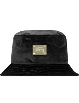 Stussy Lux Velvet Bucket Hat Picture