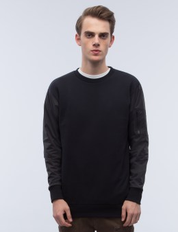 Black Scale Ma-1 Crewneck I Sweatshirt Picture