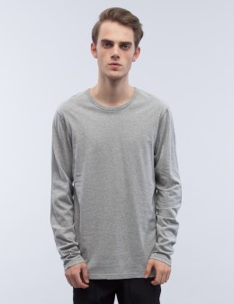 REIGNING CHAMP Cotton Jersey Crewneck Sweatshirt Picture