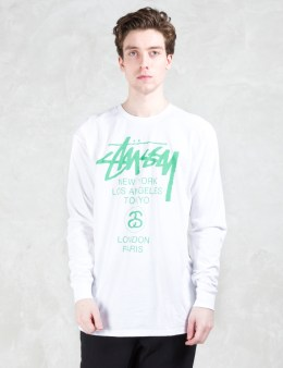 Stussy World Tour L/S T-Shirt Picture
