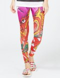 adidas Originals Multicolor Dragon Print Legging Picutre