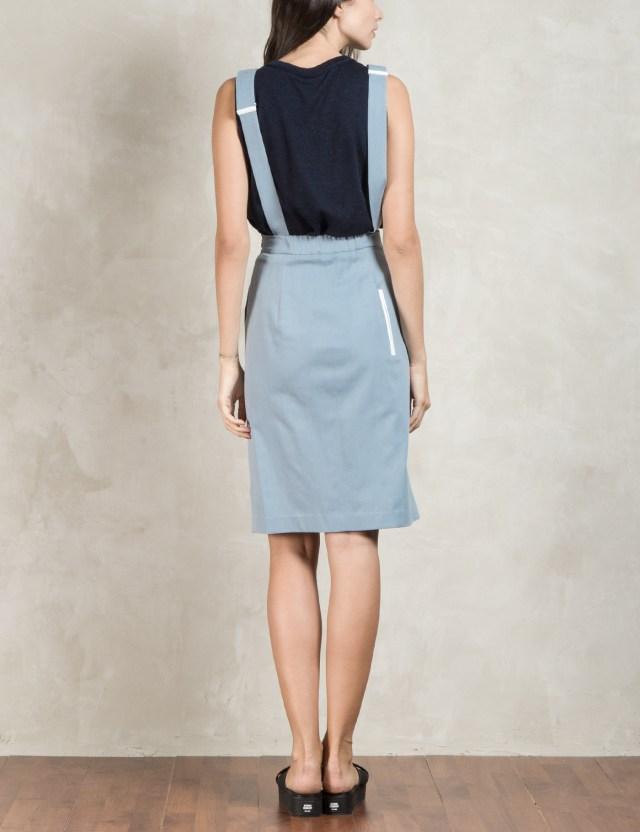 dim e cres sky blue suspender one skirt hbx
