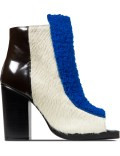 Opening Ceremony Cobalt Multi Elise Open Toe Booties Picture