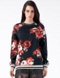MSGM Black/Red Maglia Sweater Picutre