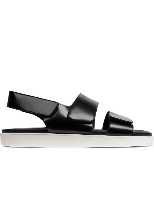 Wood Wood Black Kiki Sandal Shoes