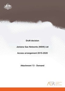Final decision JGN distribution access arrangement Australian Energy Regulator