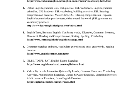 Business English Exercises For Esl Learners Idea Gallery