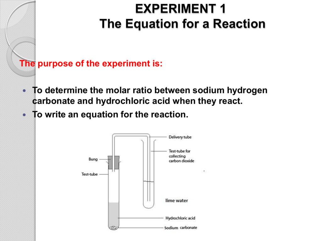 Balanced Chemical Equation For The Reaction Of Sodium