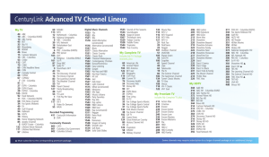 service electric cable tv and communications channel lineup - 300×175