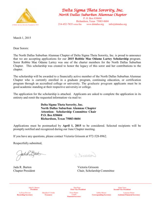 Delta Sigma Theta Sorority Inc