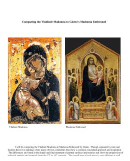 Cimabue, Giotto, Duccio