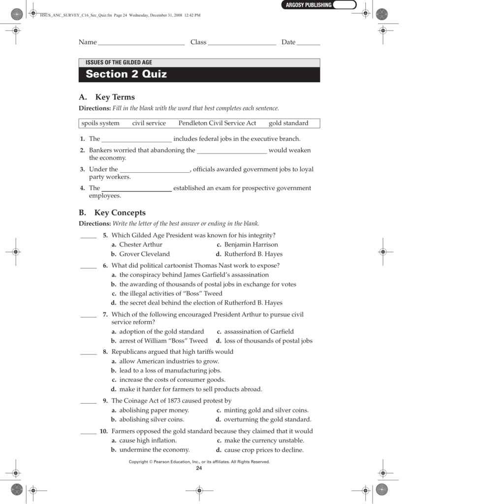 25 Chapter 5 Political Parties Worksheet Answers