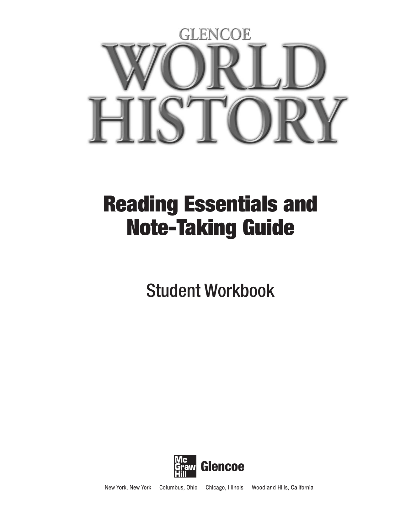 Gwhrentgse2 World History Worksheets