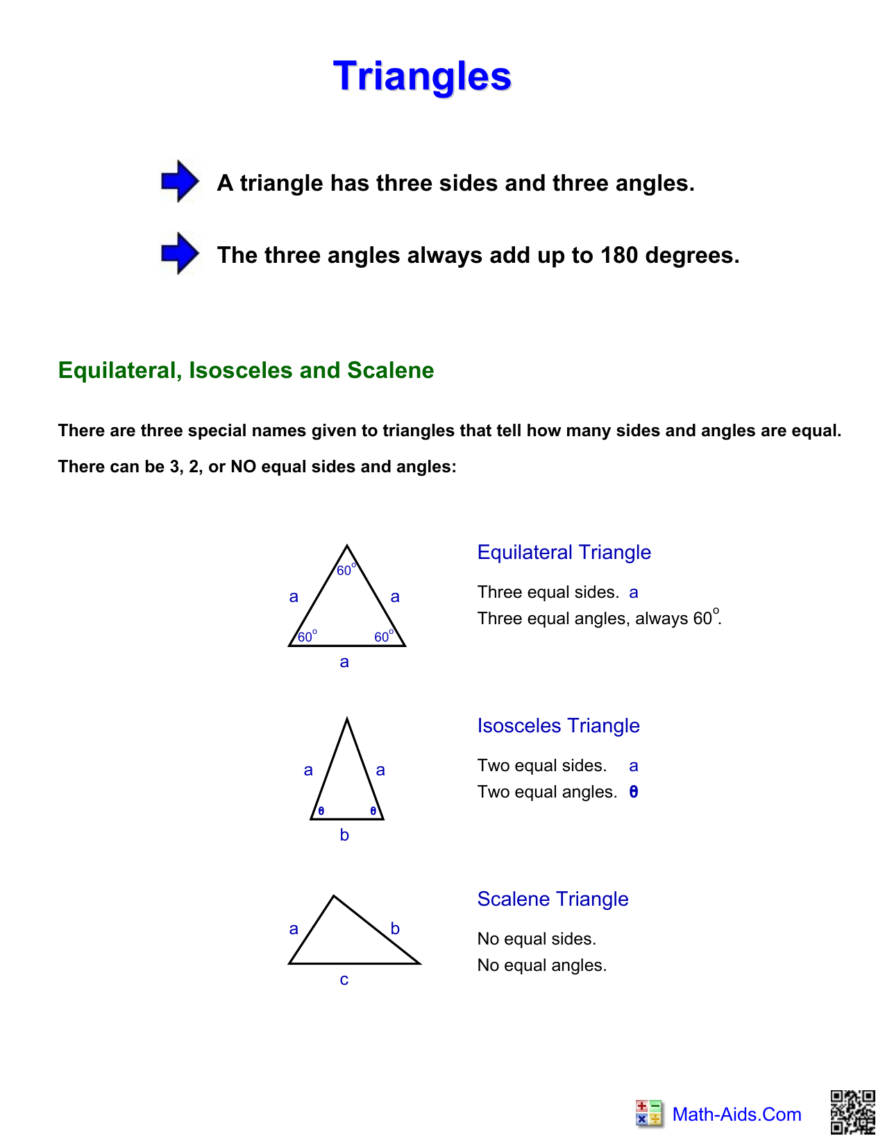 Triangle Facts