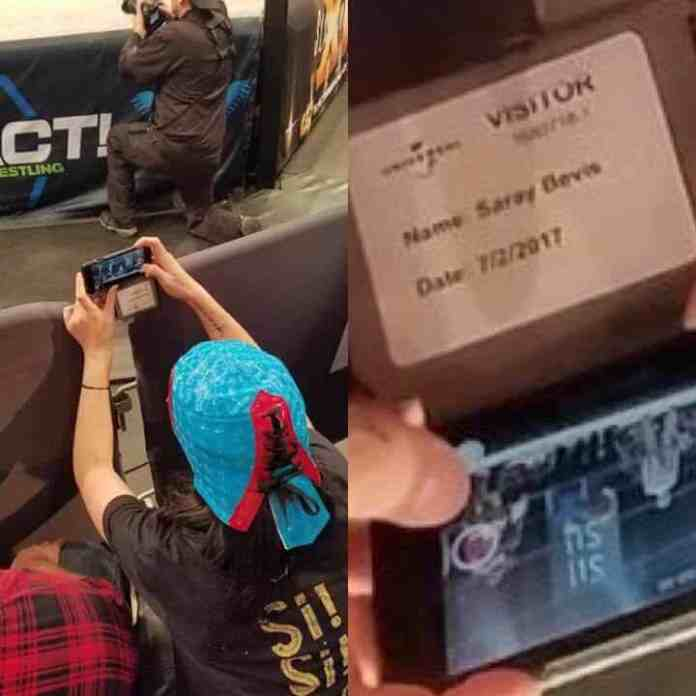 Paige Was Front Row at Impact Wrestling's Slammiversary   Superfights