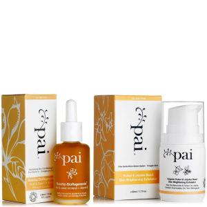 Pai Skincare Rosehip Oil and Kukui and Jojoba Bead Skin Brightening Exfoliator