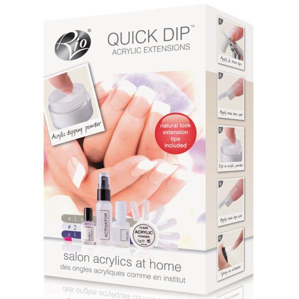 Rio Quick Dip Acrylic Nail Extensions Image 2