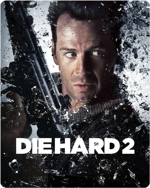 Die Hard 2 Zavvi Exclusive Limited Edition Steelbook Blu Ray