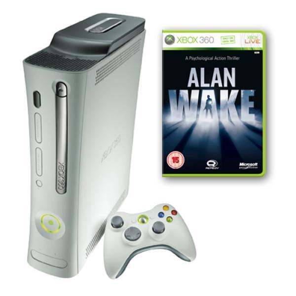 Xbox 360 Arcade Console Including Alan Wake Games