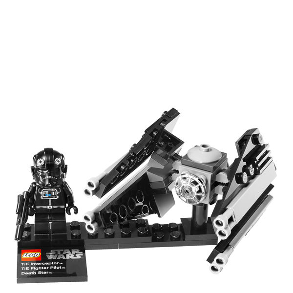 LEGO Star Wars TIE Interceptor Amp Death Star 9676 Toys