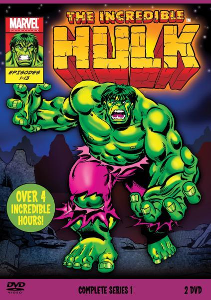 The Incredible Hulk 1996 Complete Season 1 DVD Zavvi