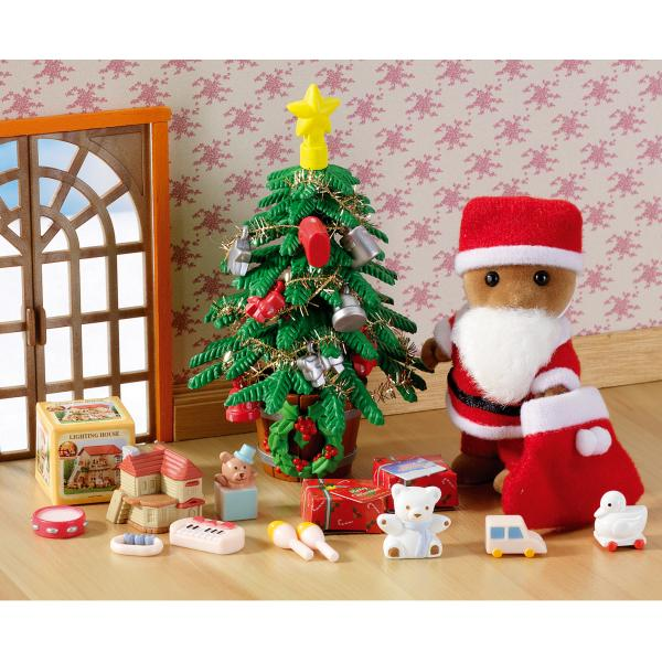 Sylvanian Families Father Christmas Amp Tree Set IWOOT