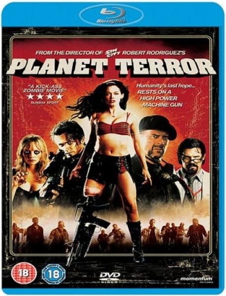 Planet Terror Blu Ray Zavvi