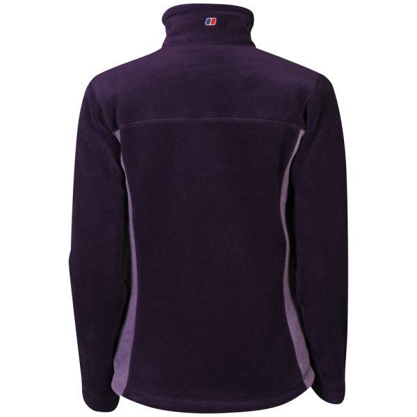 Berghaus Womens Activity Fleece Jacket Purple Sports