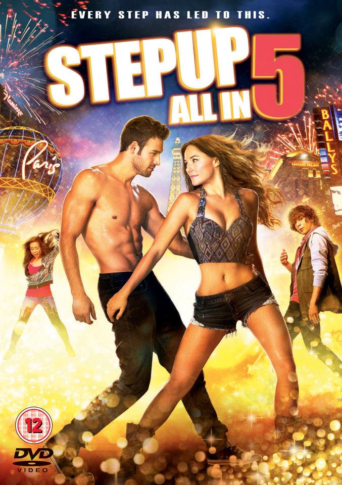 Step Up 5 All In DVD Zavvi