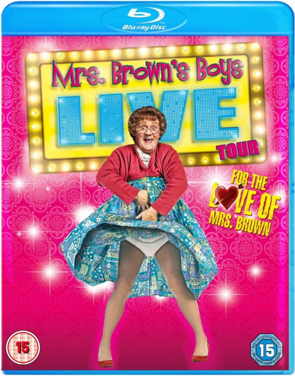 Mrs Browns Boys Live Tour - For The Love Of Mrs Brown Blu ...