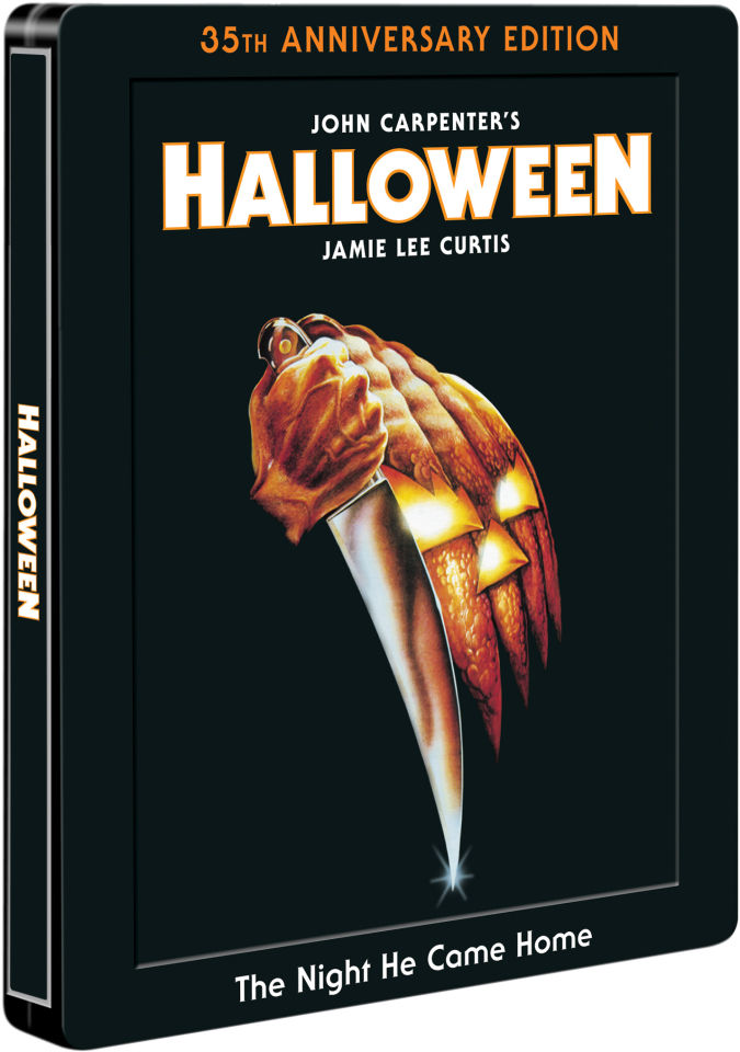 Halloween 35th Anniversary Limited Edition Steelbook Blu Ray Zavvi