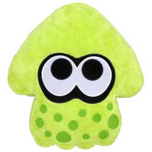 Splatoon Inkling Squid Cushion (Green)