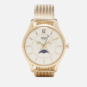 Henry London Westminster Moon Phase Watch - Gold