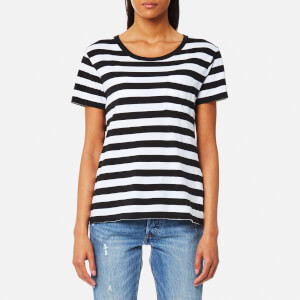 Levi's Women's The Perfect Pocket T-Shirt - Wanderer White/Navy Blazer