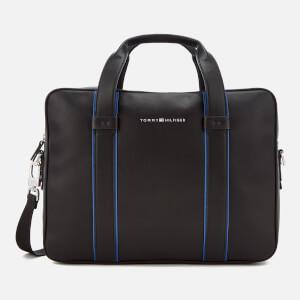 Tommy Hilfiger Men's Pop Stripe Computer Bag - Black/Sodalite Blue