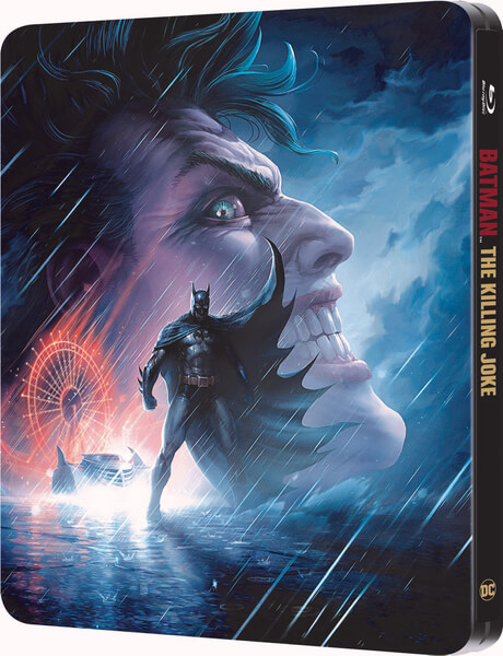Batman The Killing Joke Zavvi Exclusive Steelbook Blu