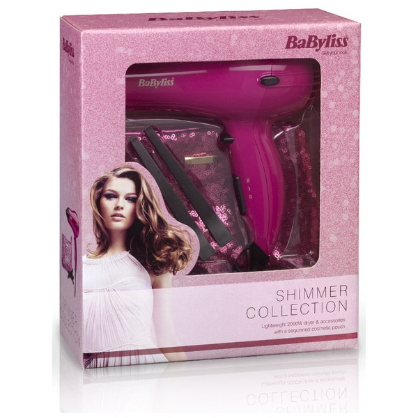 BaByliss Limited Edition Hair Dryer Gift Set Free