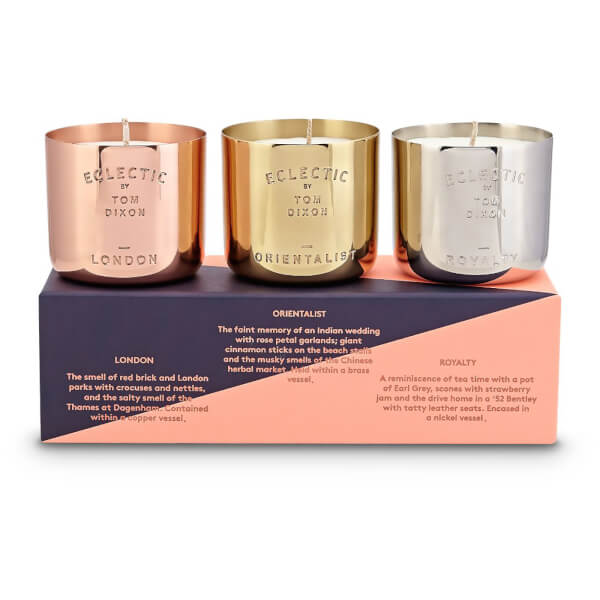 Tom Dixon Scent Candle Gift Set