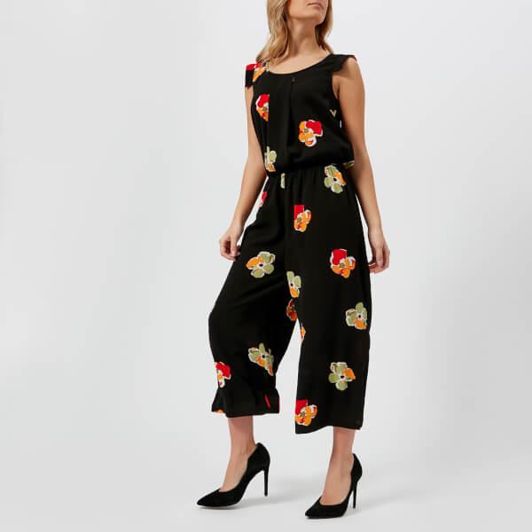 Armani Exchange Women's Floral Print Jumpsuit - Big Copper