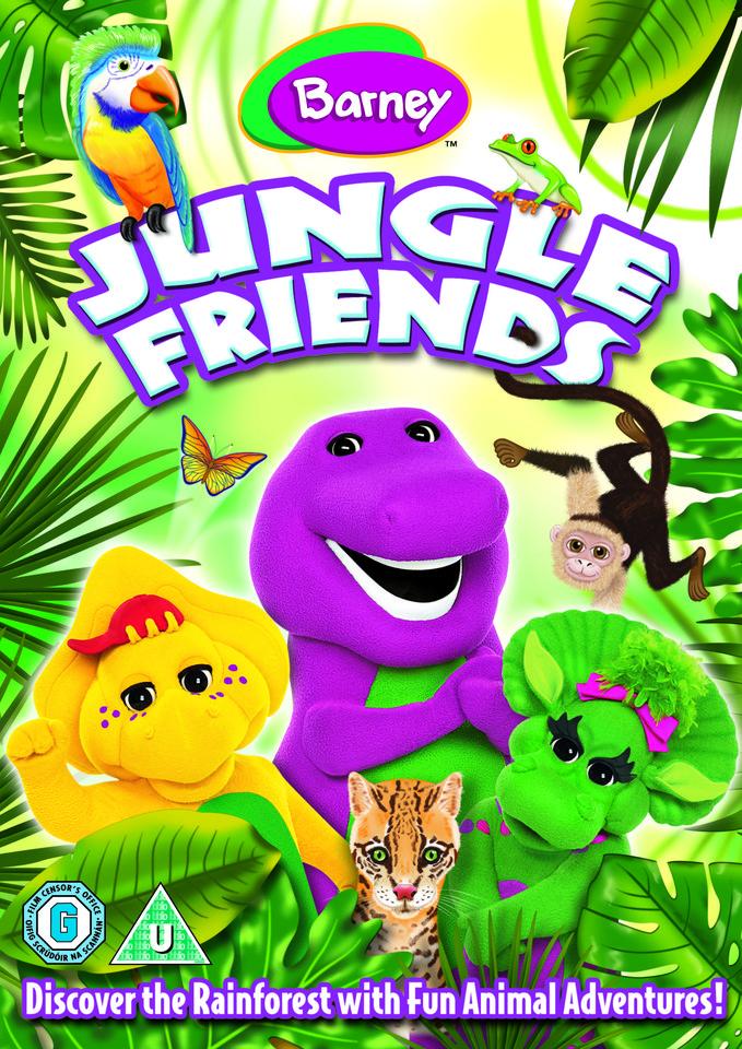 Barney Jungle Friends DVD Zavvi