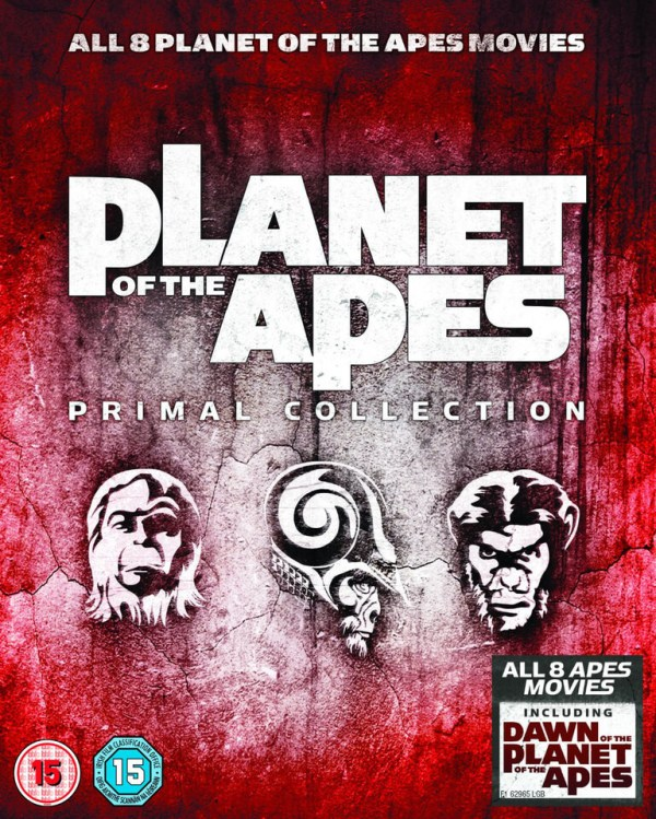 Planet Of The Apes: Primal Collection 1-8 Box Set Blu-ray ...