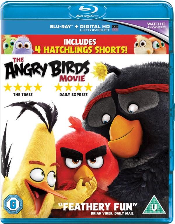 The Angry Birds Movie Blu-ray | Zavvi