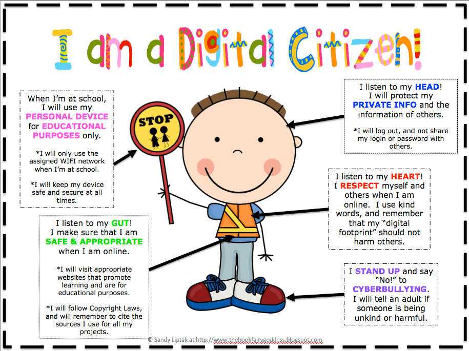 Image result for 9 rules of digital citizenship