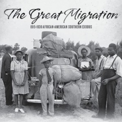 Image result for The Great Migration African American Location