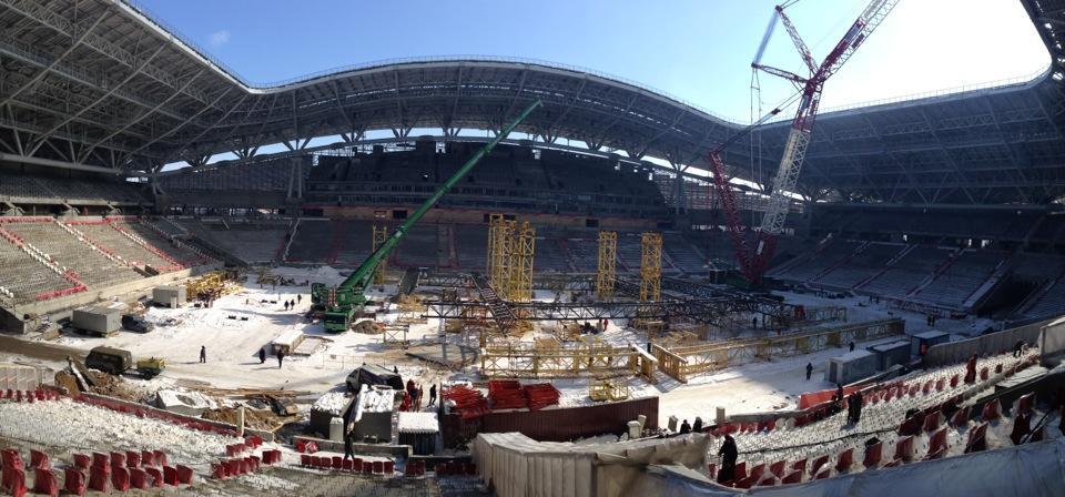 Казань арена внутри