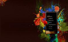 Microsoft Zune wallpaper
