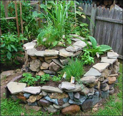 herb spiral garden, Designing an Herb Garden, herb garden design, homesteading, homestead, gardening